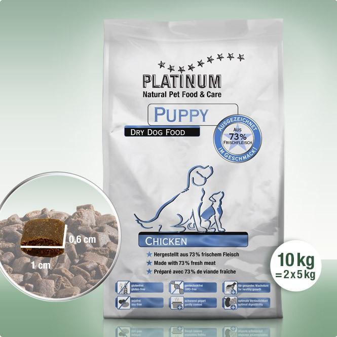 Суха Храна за Малки Кученца Platinum Puppy Chicken