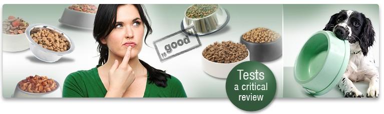 Доклад от изпитване на кучешката храна