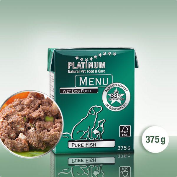 Полувлажна Храна за Кучета PLATINUM MENU Риба