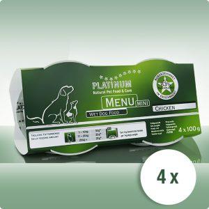 Храна за Кучета Platinum MENU MINI Пиле