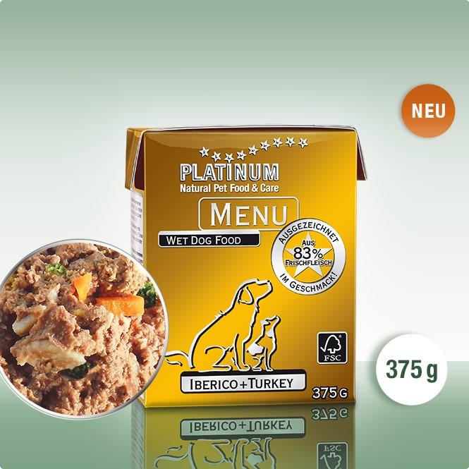 Храна за Кучета PLATINUM MENU Иберийско + Пуйка