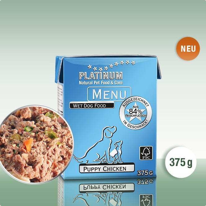 Храна за Малки Кученца PLATINUM MENU Puppy Пиле